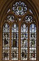 Grantham, St Wulfram's, Stained glass window (23814675682).jpg