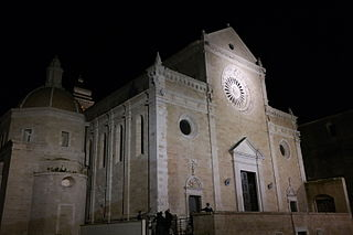 Gravina Cathedral church building in Gravina in Puglia, Italy