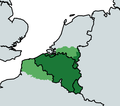 Greater Belgium with less common claims in light green.png