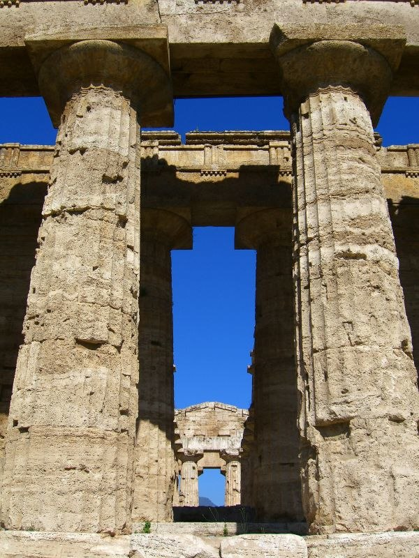 Greek temple ruins