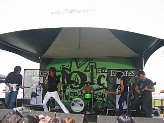 Greeley Estates - Greeley Estates at Warped Tour 2006 in Vancouver, BC