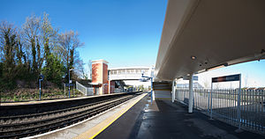 Greenhithe railway station - Image: Greenhithe Railway Station, Kent, England April 2009