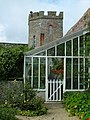 Greenhouse in the gardens of the Castle of Mey - geograph.org.uk - 1596789.jpg