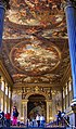 Greenwich - ICE Fisheye View WSW into the Painted Hall 1707-1727 Sir James Thornhill.jpg