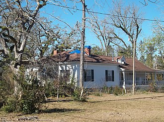 National Register of Historic Places listings in Jackson County, Florida - Image: Greenwood FL Longwood House 01