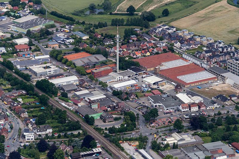 File:Greven, Gewerbegebiet Gutenbergstraße-Kerkstiege -- 2014 -- 9857.jpg