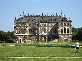 Palacete en el Großen Garten