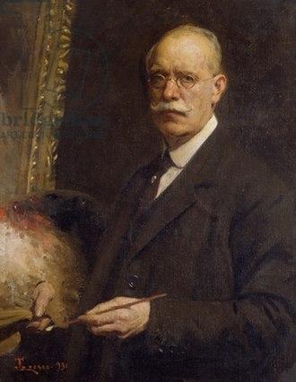 Giacomo Grosso - Selfportrait (1931).