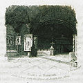 Grotto at Nazareth said to have been the House of Joseph and Mary - Clarke Edward Daniel - 1824.jpg