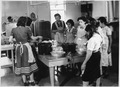 Group of women at a food canning class - NARA - 285747.tif