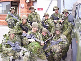 The Canadian Grenadier Guards - Canadian Grenadier Guards training in the United Kingdom