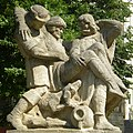 GuentherZ 2009-07-01 1149 Wien01 Hannakenbrunnen Figuren.jpg
