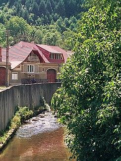On the upper reaches of the Zibin in Gura Râului