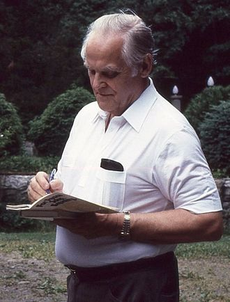 Gus Hall - Hall in 1984
