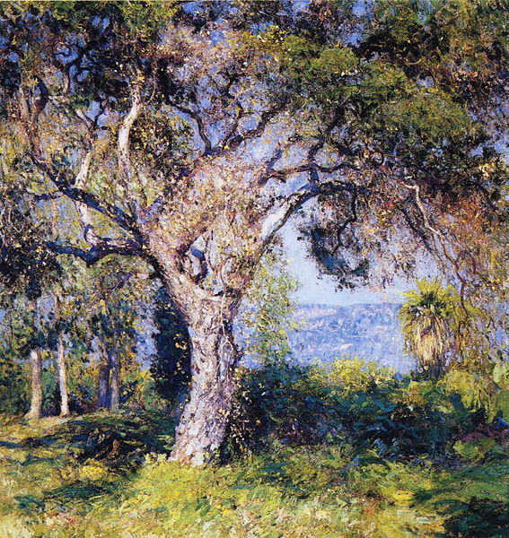 Fichier:Guy Rose - The Oak.JPG