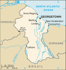 Outline of Guyana Wikipedia
