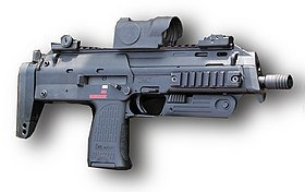MP7 con mirino Red dot
