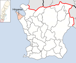 Höganäs Municipality in Scania County.png