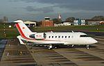 HB-JGT Canadair Challenger 605 CVT 06-12-13 (2) (16676036124).jpg