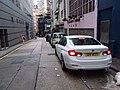 HK 上環新街 Sheung Wan New Street August 2018 SSG sidewalk carpark BMW.jpg