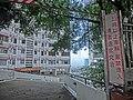HK 北角半山 North Point Mid-Levels 雲景道 41 Cloud View Road 雲景大廈 Glen Circuit car bridge sign.JPG