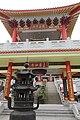 HK 粉嶺 Fanling 蓬瀛仙館 Fung Ying Sen Koon temple chinese gate Guardian Temple footbridge n burner March 2017 IX1 02 (3).jpg