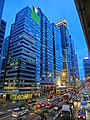 HK Central Connaught Road evening Gilman Street Beautiful Group Tower CTS House Sept-2013.JPG