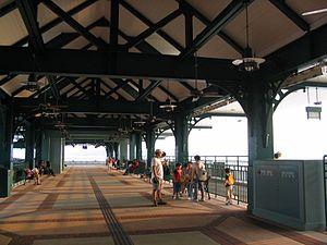 Disneyland Resort Pier - Pier interior