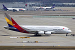 HL7625 - Asiana Airlines - Airbus A380-841 - ICN (17330387762).jpg