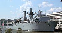 HMS Albion L14 Pier 88 jeh
