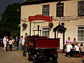 HOOK NORTON BREWERY DRAY AT THE HARVESTER LONG ITCHINGTON BEER FESTIVAL APRIL 2011 (5674802183).jpg