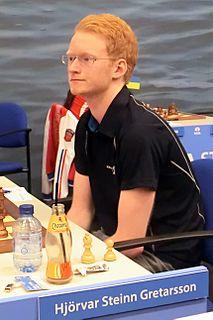 Hjörvar Steinn Grétarsson Icelandic chess player
