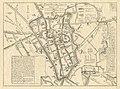 HUA-212046-Plattegrond van de stad Utrecht met weergave van een gedeelte van het stratenplan met straatnamen wegen spoorlijnen watergangen en plantsoenen met aan.jpg