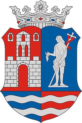 Mosonmagyaróvár - Image: HUN Mosonmagyaróvár COA