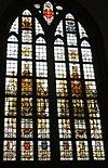 haarlem bavokerk grote markt- laurens jansz coster raam