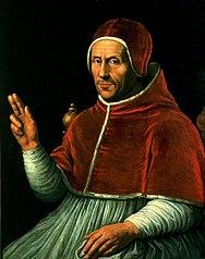 Portret van paus Adrianus VI (1459-1523)
