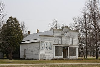 National Register of Historic Places listings in Calumet County, Wisconsin - Image: Haese Memorial Historic District Apr 2011