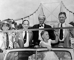 Hal W. Adams Bridge - Image: Hal Adams Bridge 1947 n 028483