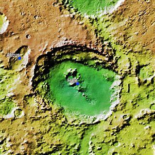 Martian crater