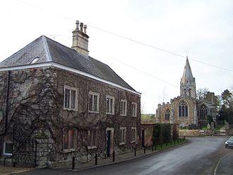 Hallaton - Hallaton village