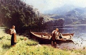 Hans Dahl - Image: Hans Dahl By the Water's Edge