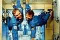 Hans Schlegel Reinhold Ewald Die deutschen Wissenschaftskosmonauten.jpg