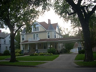 National Register of Historic Places listings in Grand Forks County, North Dakota - Image: Harriet and Thomas Beare House, Grand Forks North Dakota