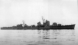 Japanese destroyer Harutsuki - Image: Harutuki