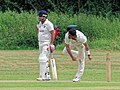 Hatfield Heath CC v. Takeley CC on Hatfield Heath village green, Essex, England 13.jpg