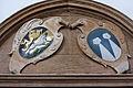 Haunsheim Dreifaltigkeitskirche Wappen 39.JPG