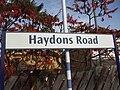 Haydons Road stn signage.JPG
