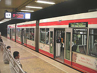Stadtbahn at main railway station