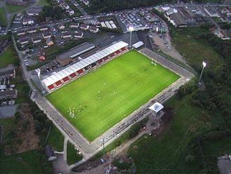 Ulster Senior Football Championship - Image: Healy Park, Omagh