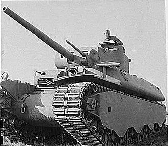 M6 heavy tank - T1E1 prototype
